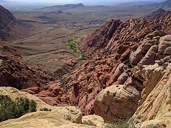 Calico Tank Peak View